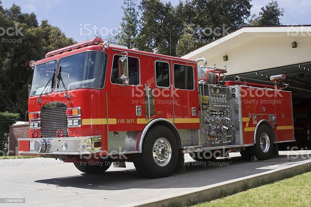 Fire Apparatus stock photo