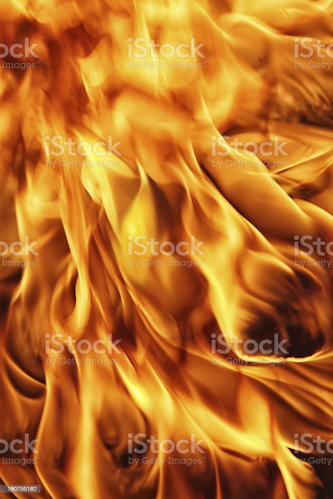 Fire Background royalty-free stock photo