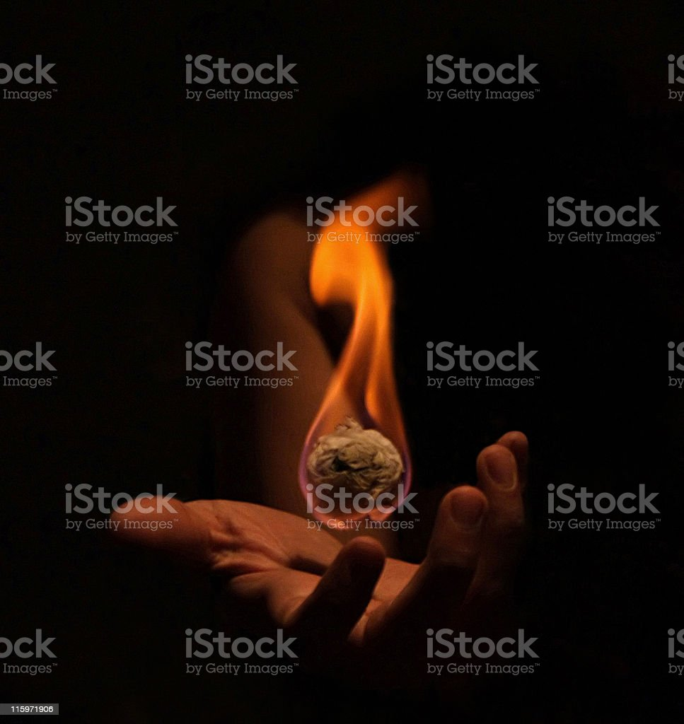 fire ball royalty-free stock photo