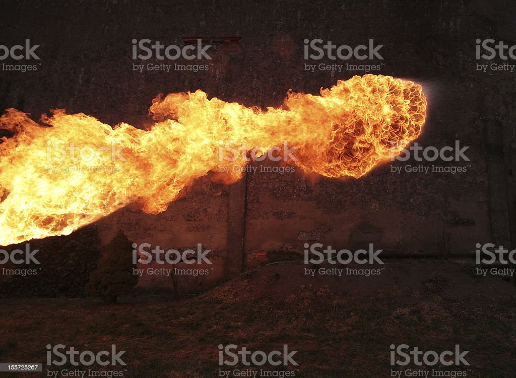 Fire Ball stock photo