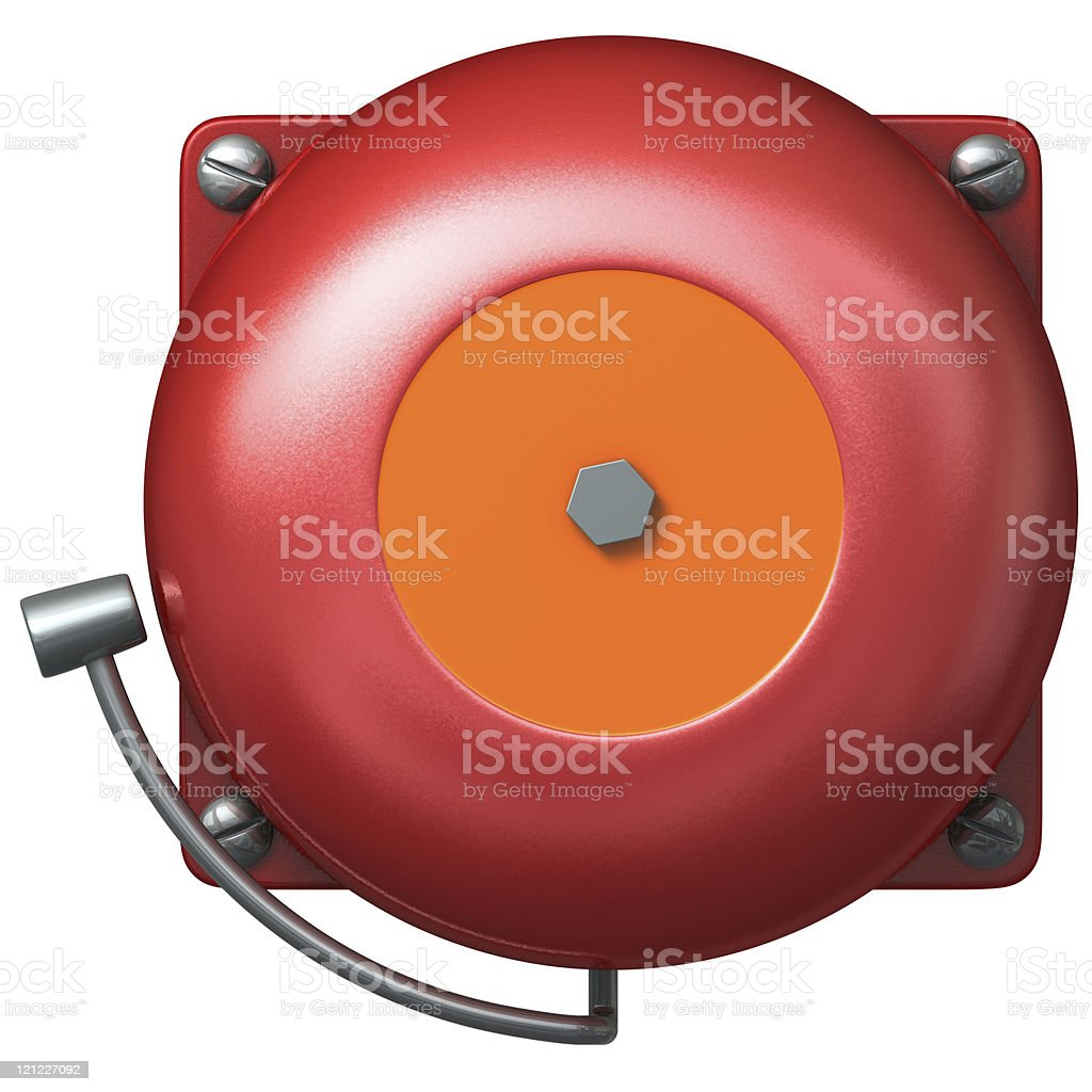 Fire bell stock photo