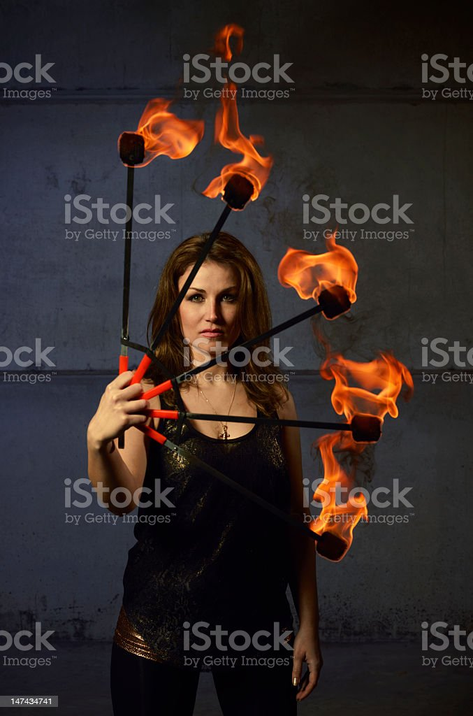 Fire breeder royalty-free stock photo