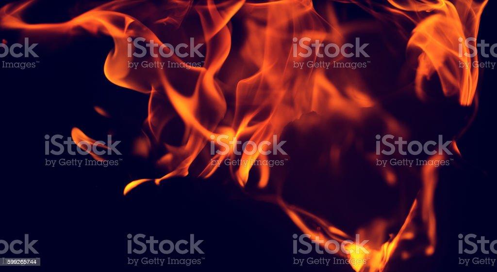 fire burning background stock photo
