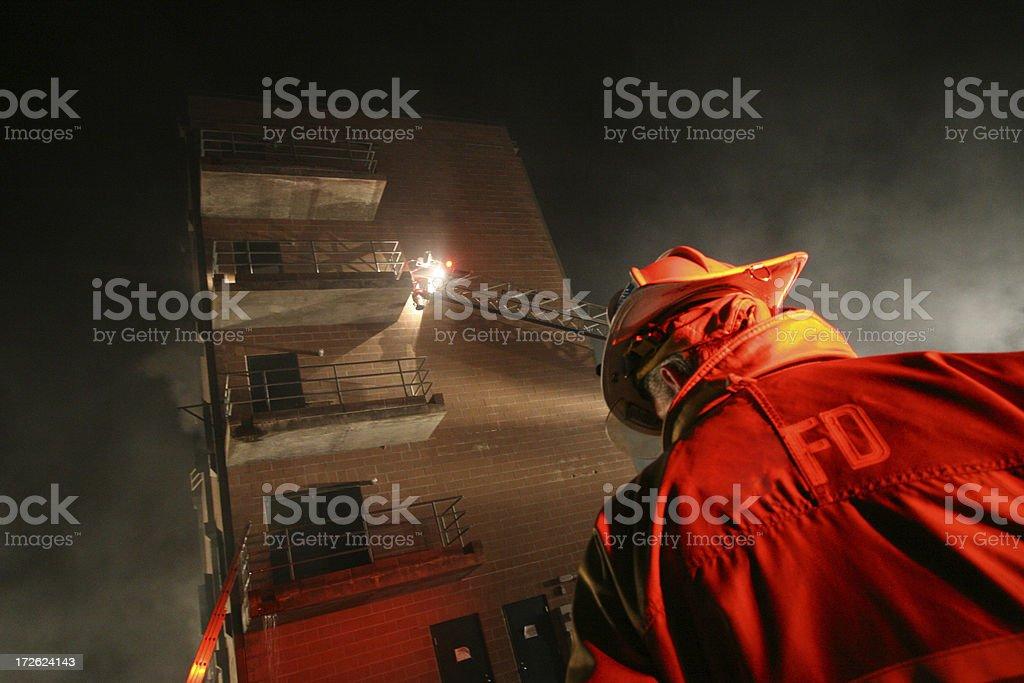 Fire Chief stock photo