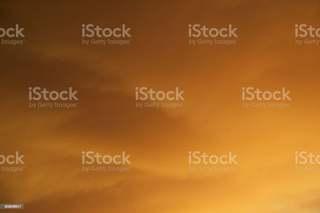 Fire cloud. stock photo