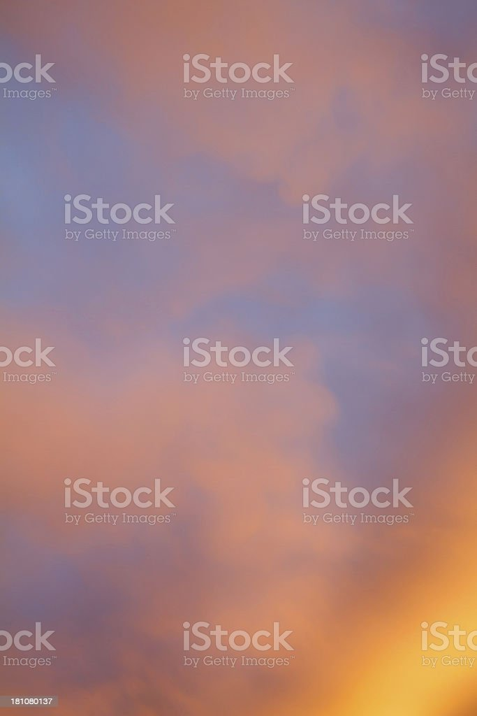 Fire Clouds stock photo