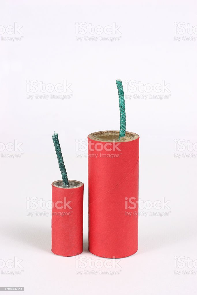 Fire Crackers royalty-free stock photo