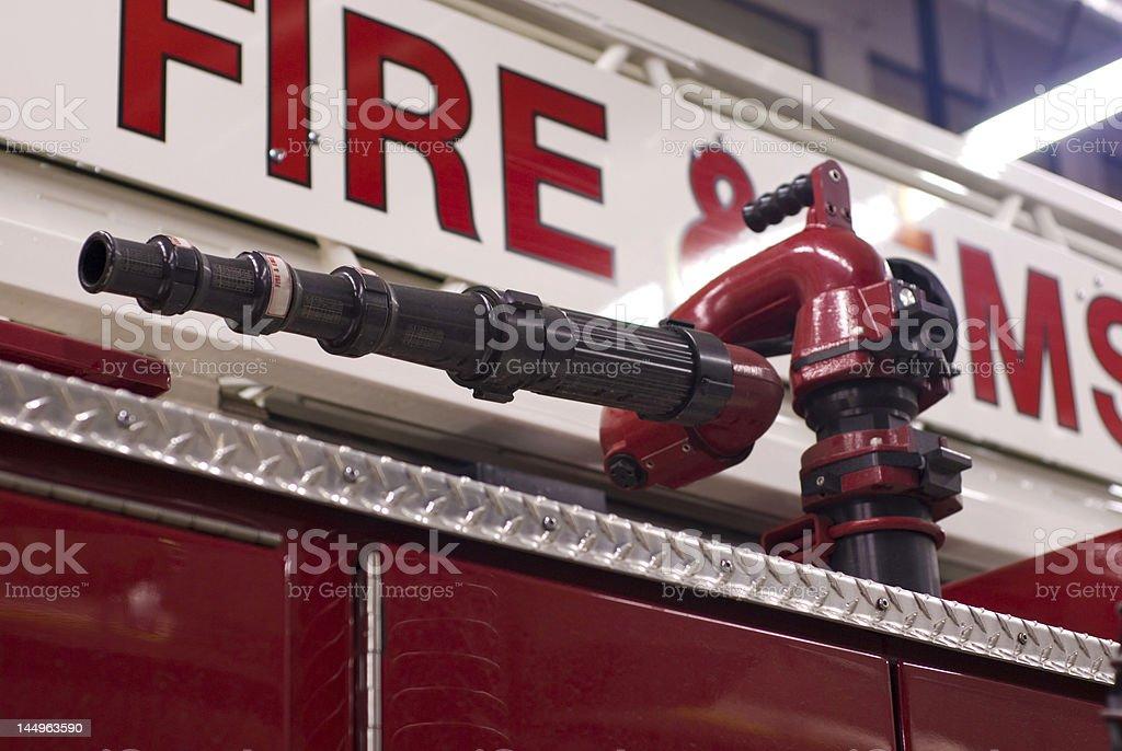Fire Deluge stock photo