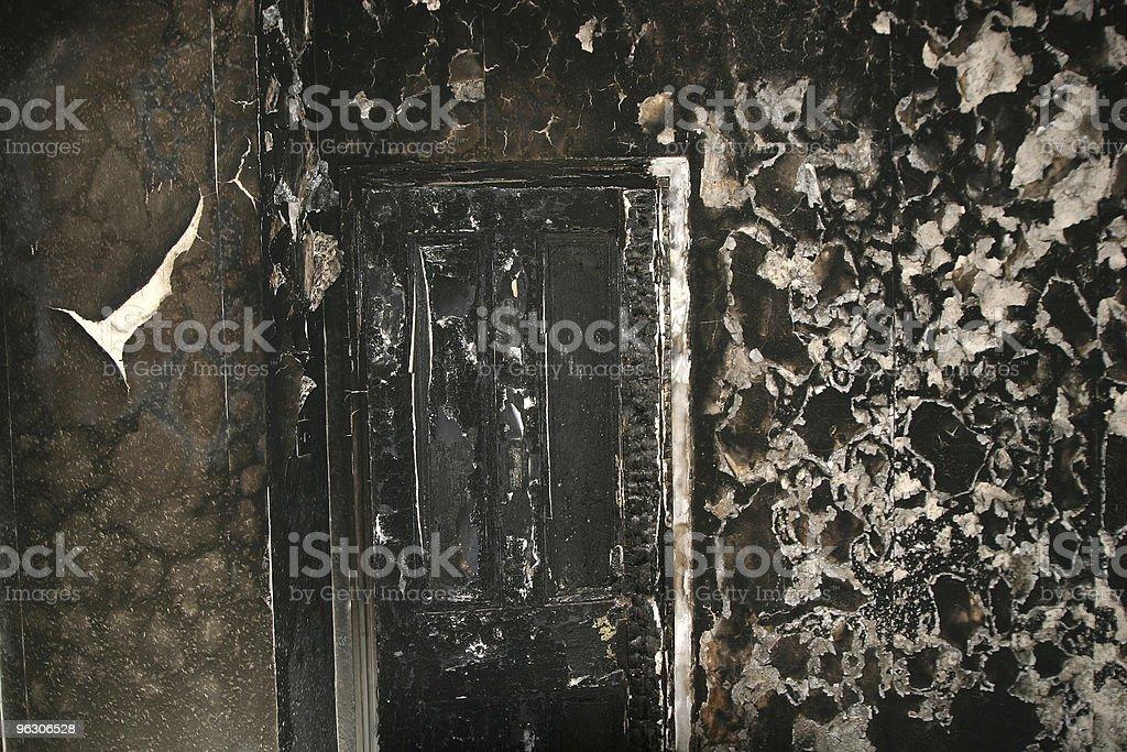 Fire Door royalty-free stock photo