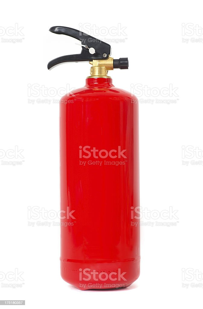fire  drencher - Feuerlöscher stock photo
