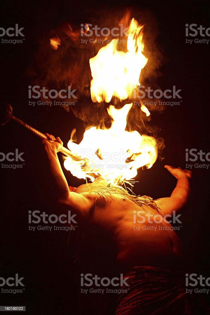 fire eater 3 stock photo