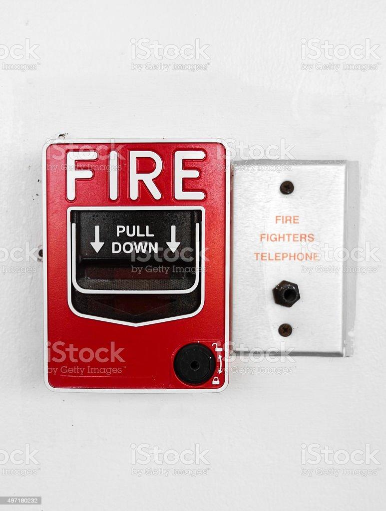 Fire Emergency stock photo