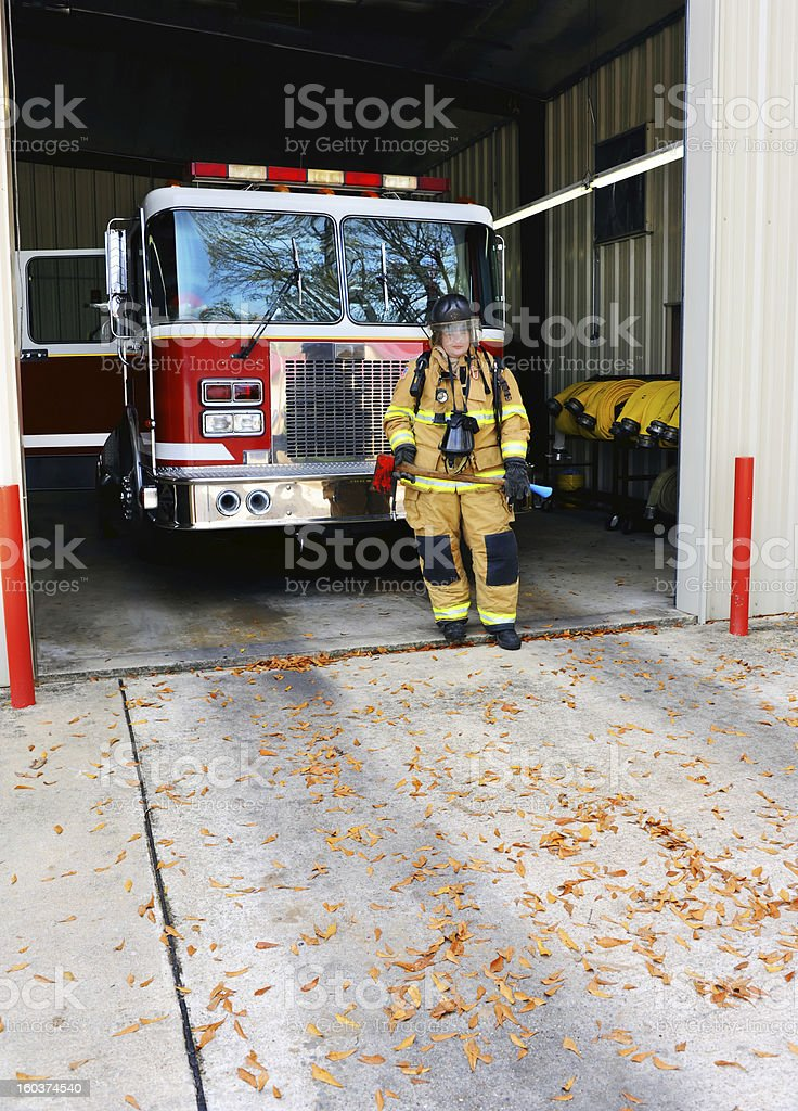 Fire emergency services royalty-free stock photo