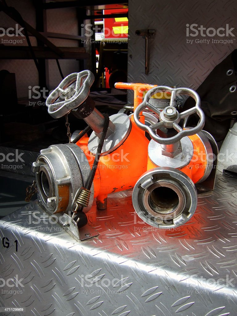 fire engine eqipment royalty-free stock photo