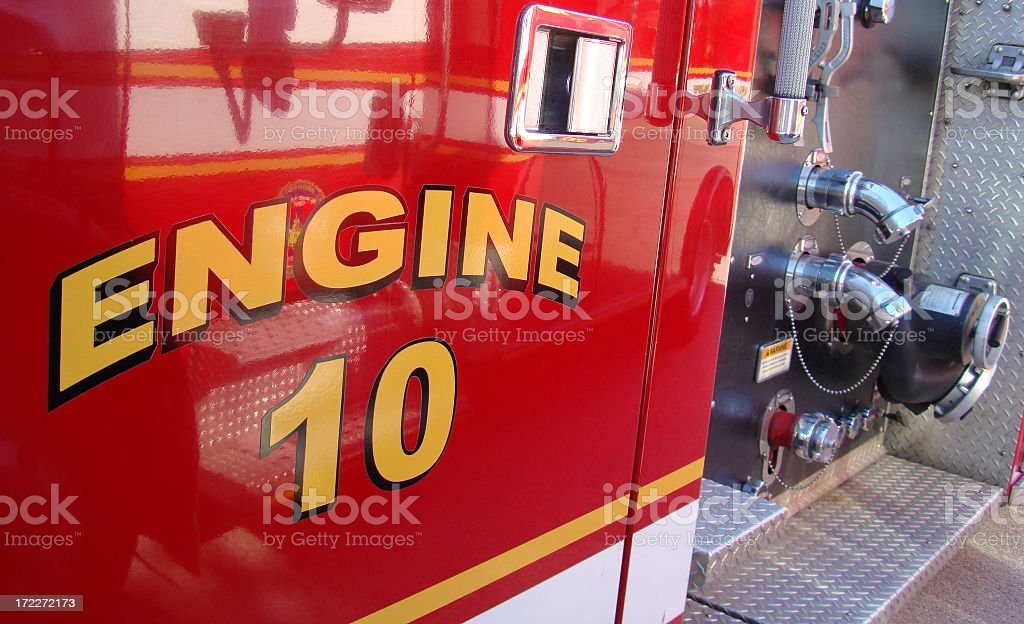 Fire Engine royalty-free stock photo