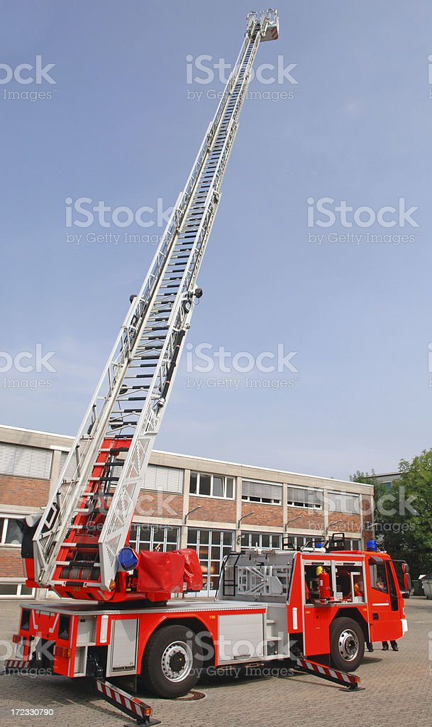 Fire engine #3 royalty-free stock photo