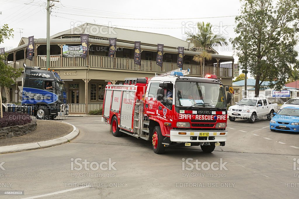 Fire Engine stock photo