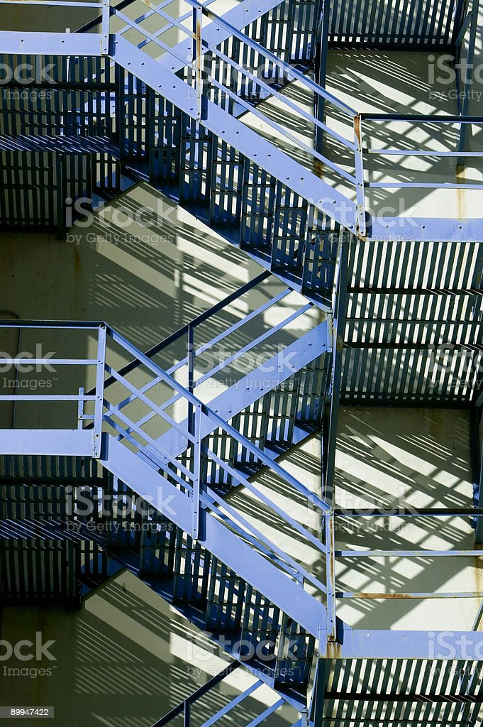 Fire Escape royalty-free stock photo