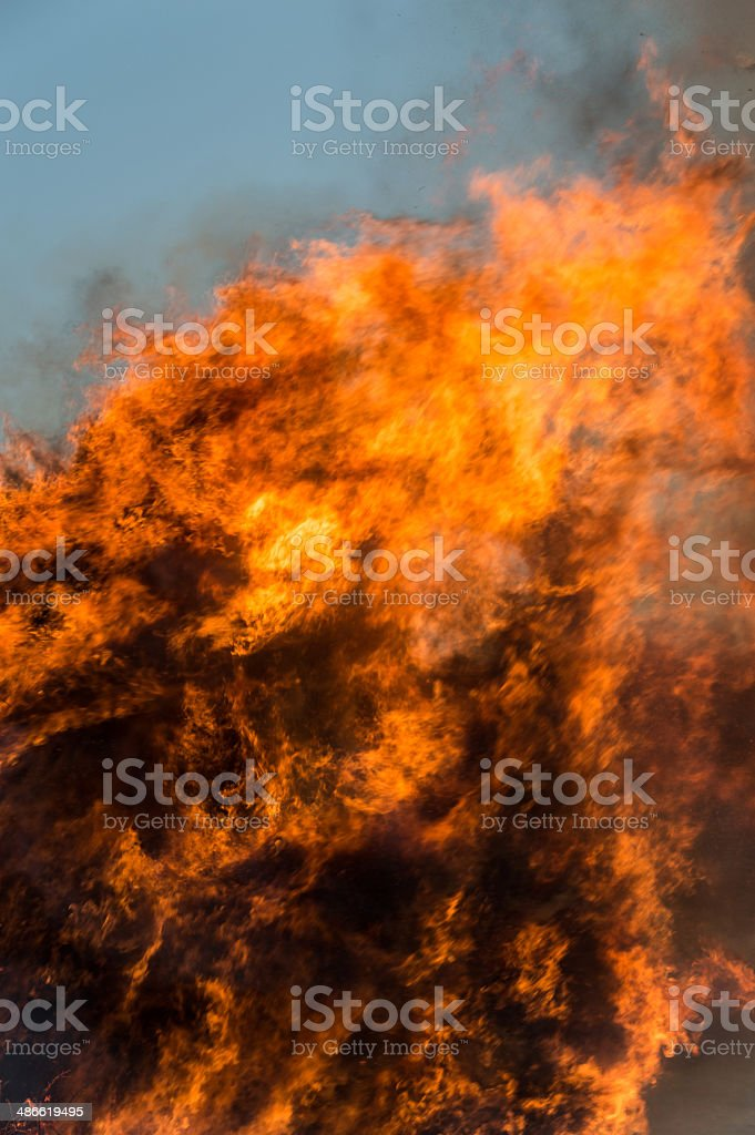 Fire Explosion royalty-free stock photo