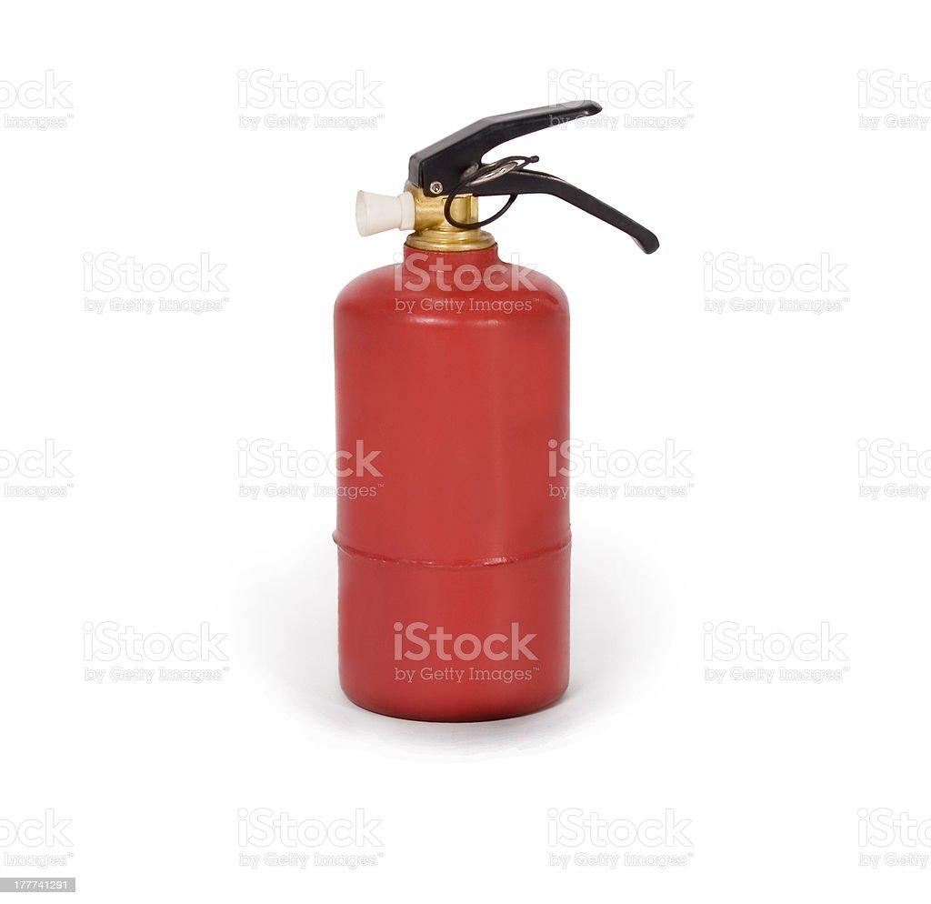 fire extinguisher isolated on white background royalty-free stock photo