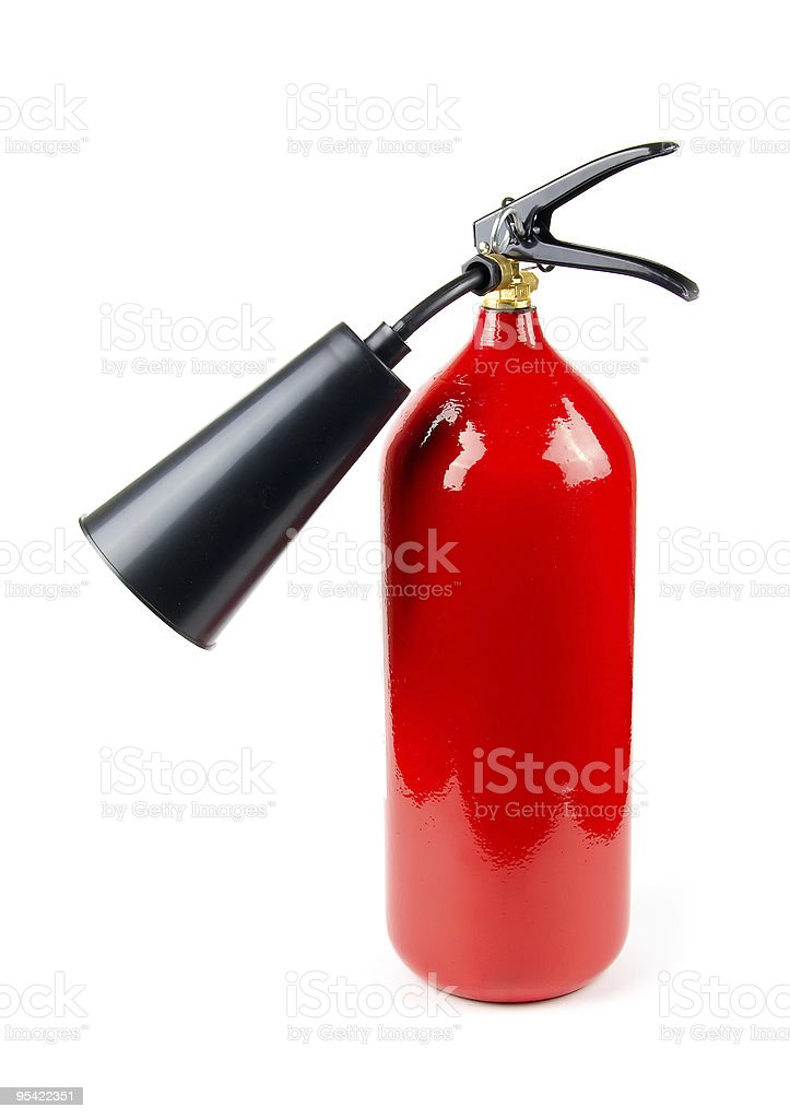 fire extinguisher royalty-free stock photo
