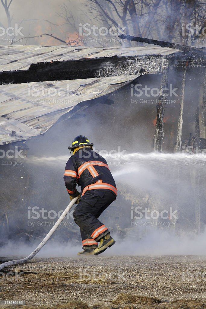 Fire Fighter royalty-free stock photo