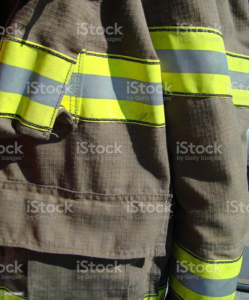 Fire Fighters Jacket royalty-free stock photo