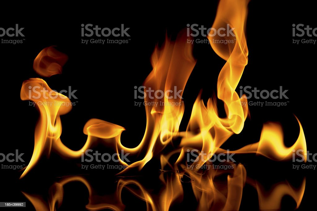 Fire Flame royalty-free stock photo