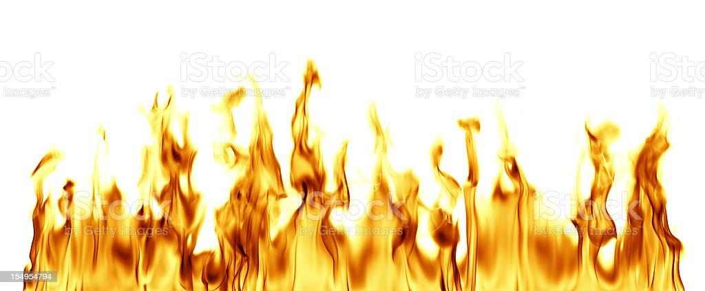 XXXL Fire Flames stock photo