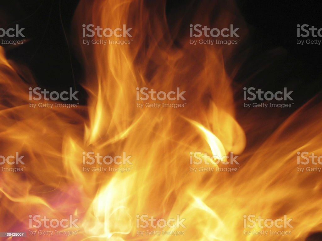 Fire flames stock photo