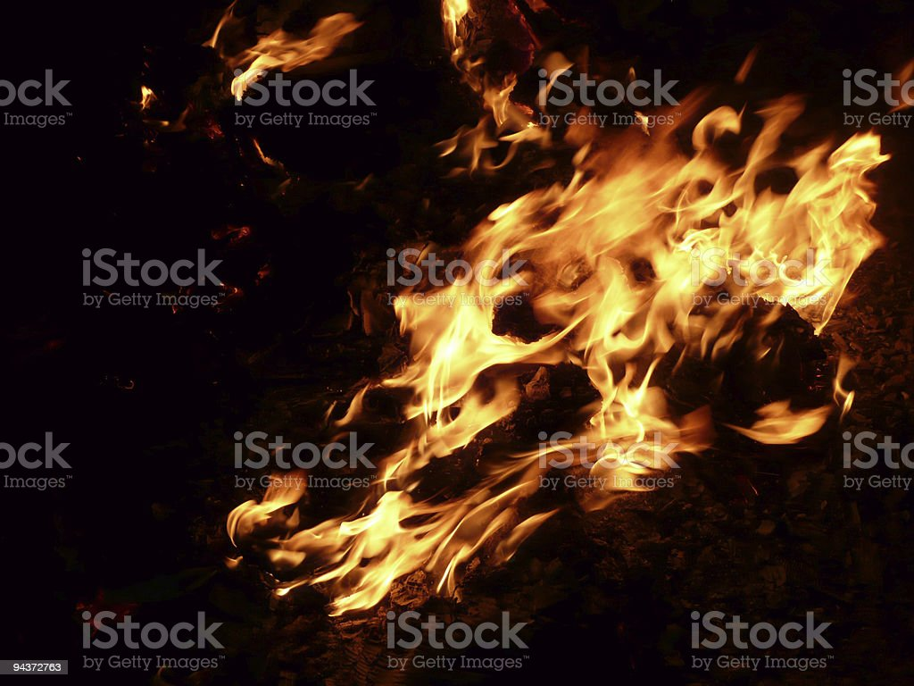 Fire Flames royalty-free stock photo