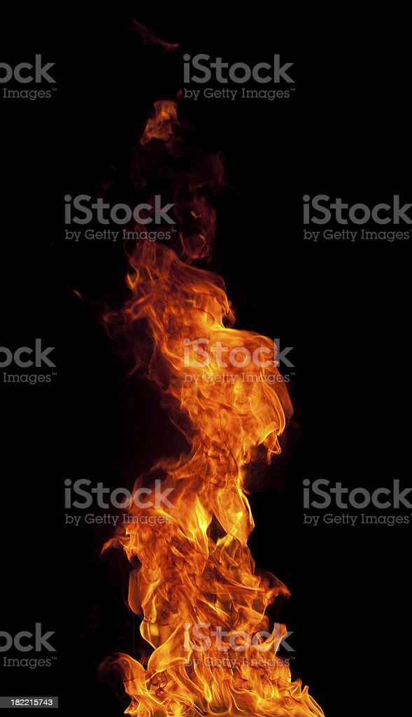 Fire frame royalty-free stock photo