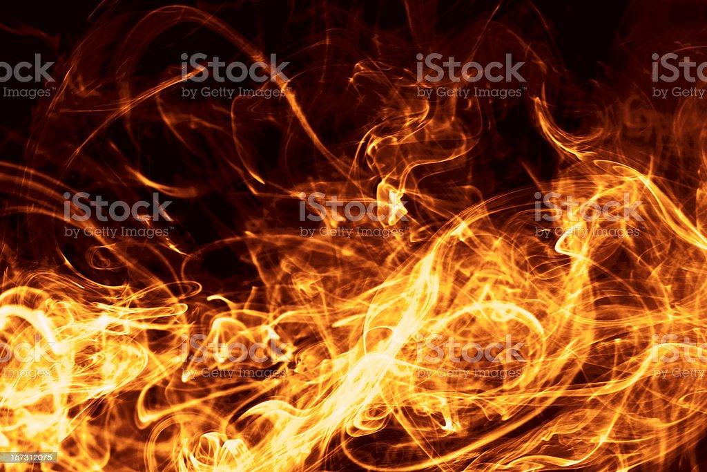 Fire Fury royalty-free stock photo
