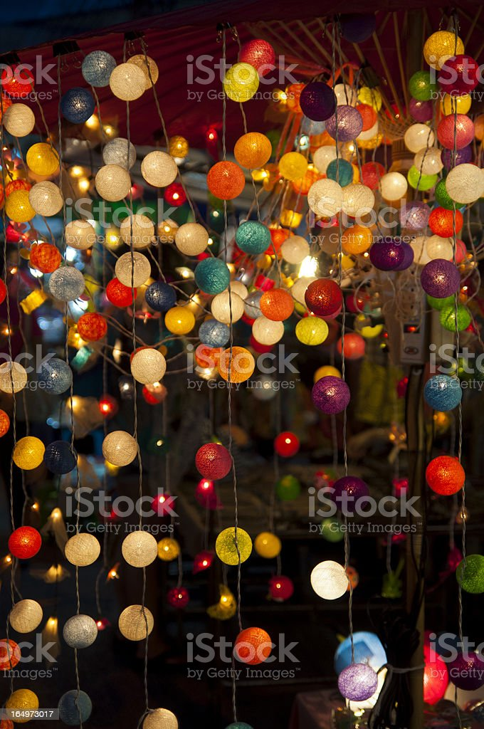Fire Hazard - Christmas Light Smoking royalty-free stock photo