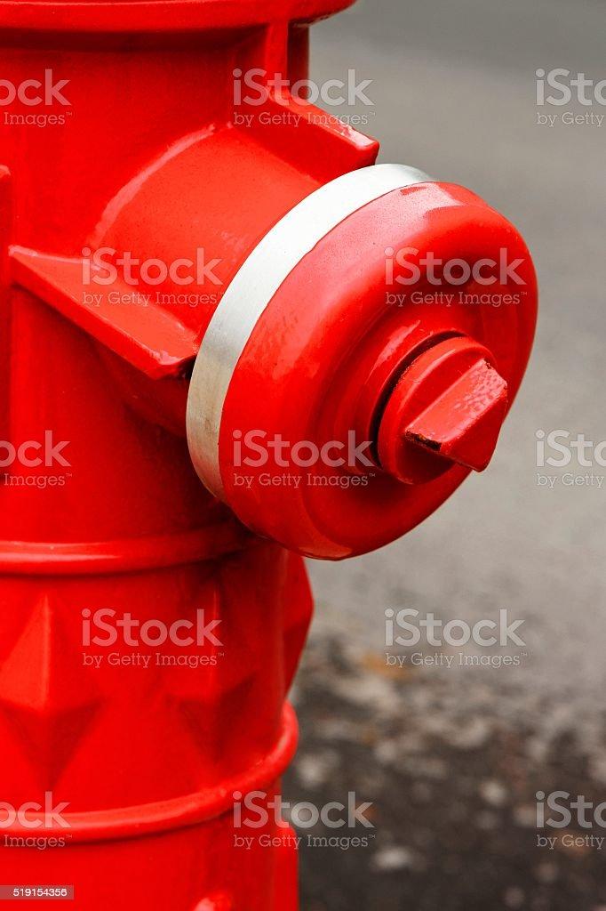 Fire Hydrant closeup stock photo