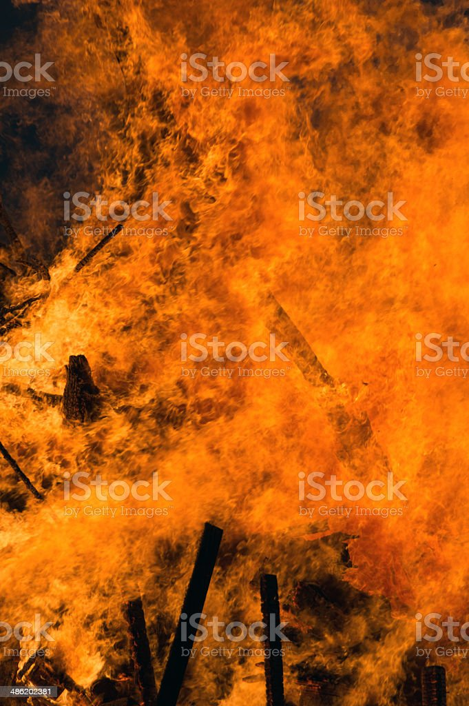 Fire inferno royalty-free stock photo