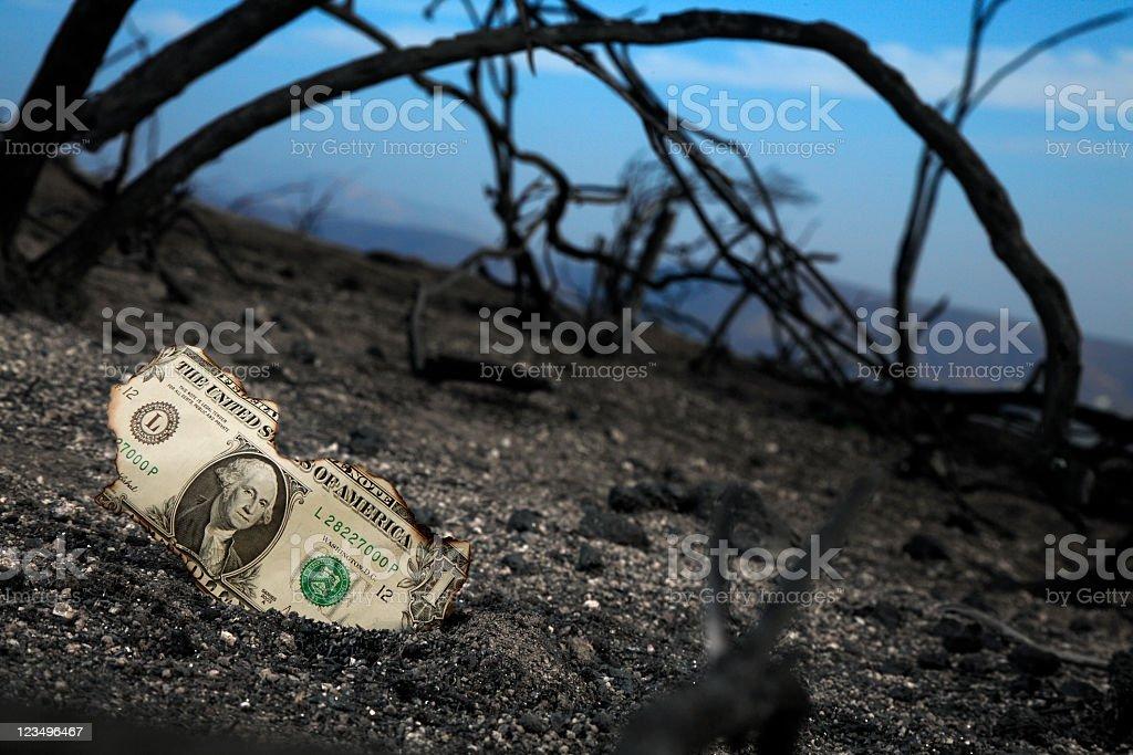 fire insurance royalty-free stock photo