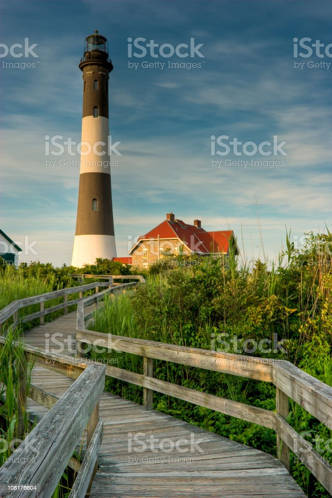 Fire Island Light stock photo