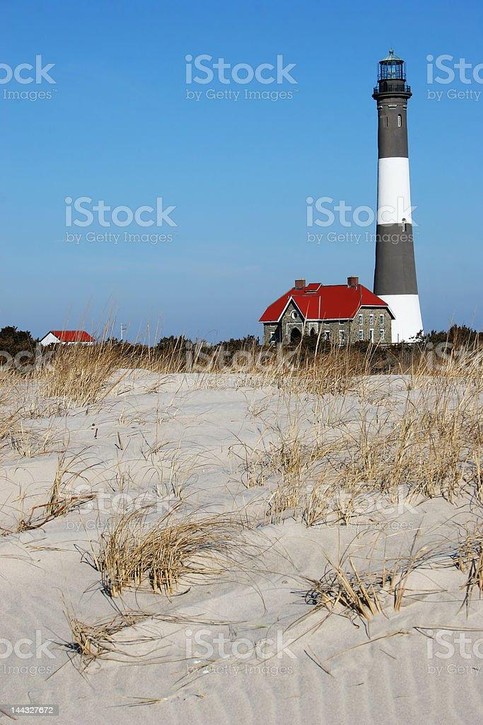 Fire Island Lighthouse 2 stock photo