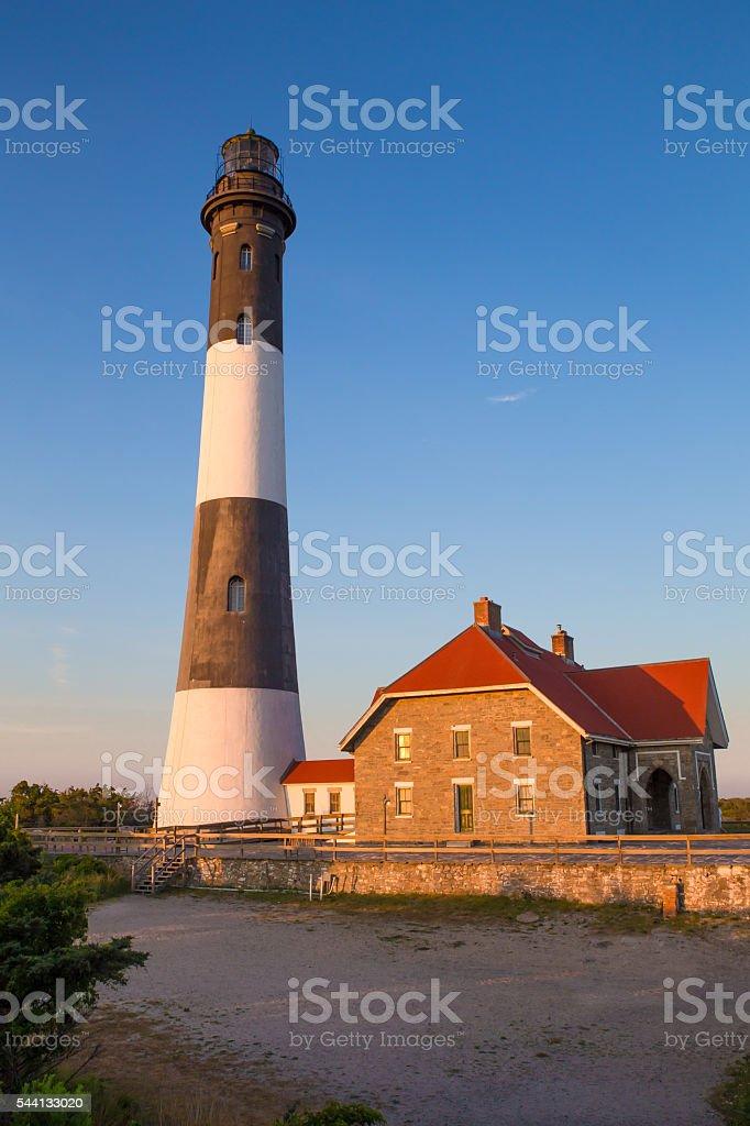 Fire Island Lighthouse NY stock photo