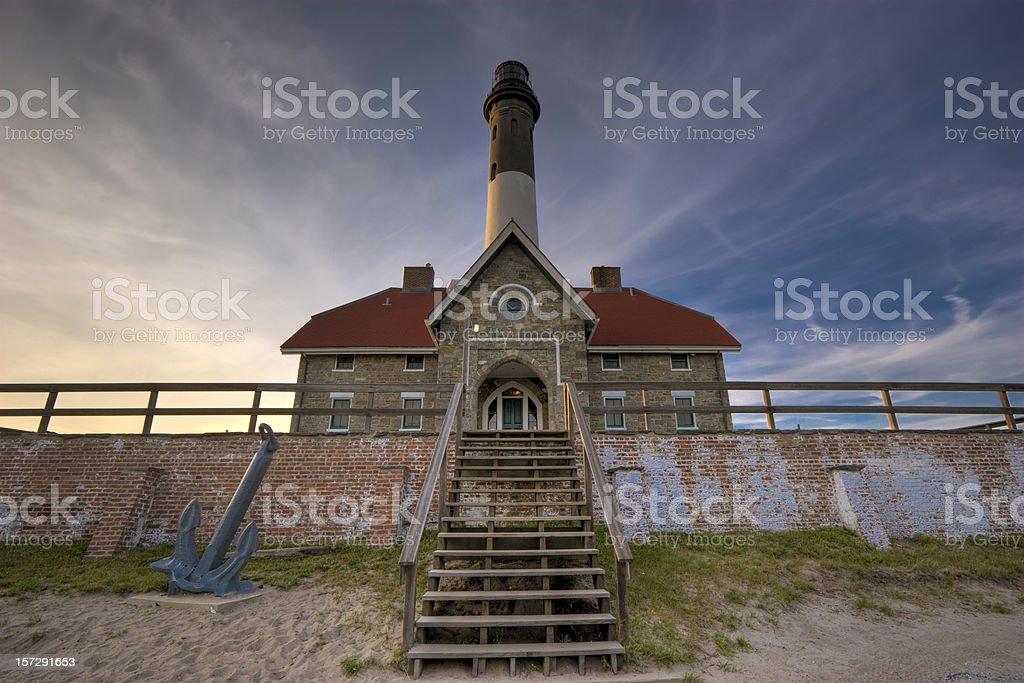 Fire Island Lighthouse (NY) stock photo
