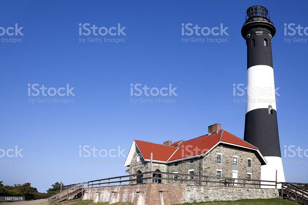 Fire Island National seashore Lighthouse stock photo