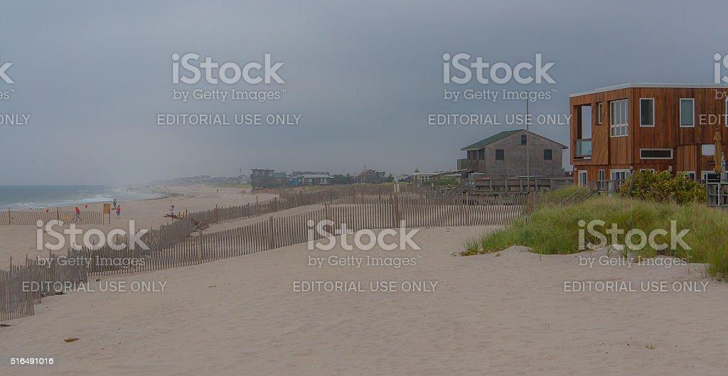 Fire Island - Ocean Beach, NY stock photo