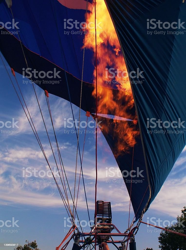Fire it Up to Go Up! royalty-free stock photo