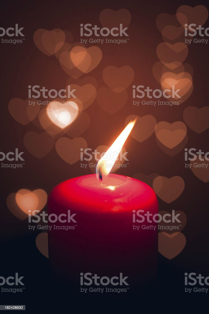 fire of love royalty-free stock photo