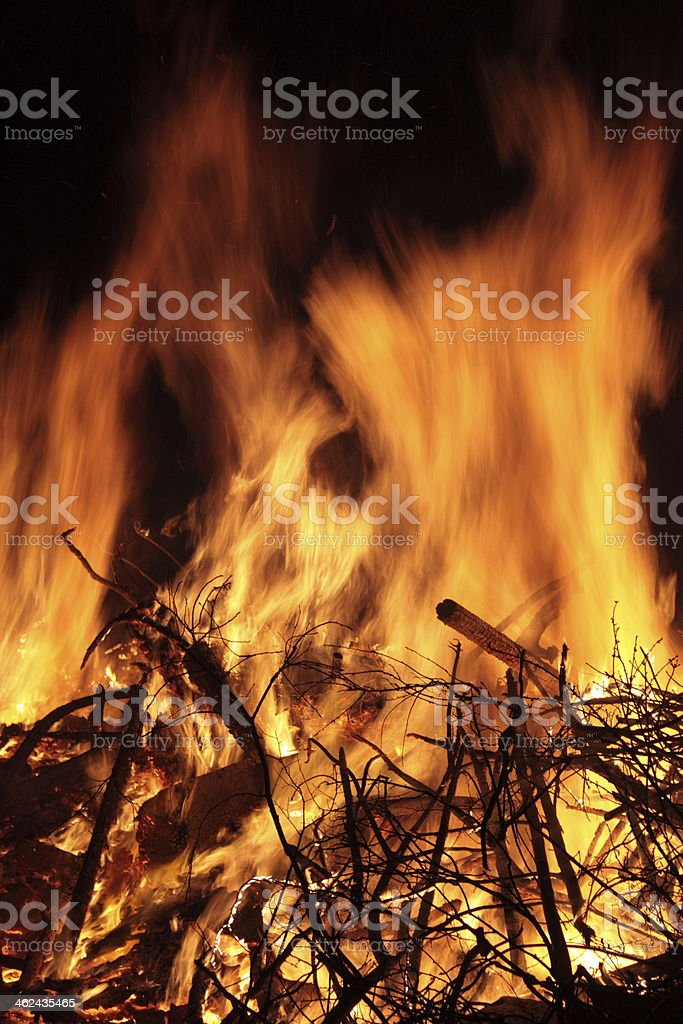 Feuer stock photo