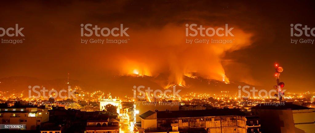 Fire... stock photo