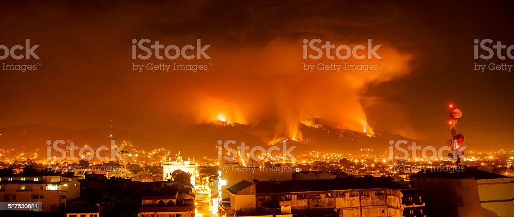 Fire... stock photo
