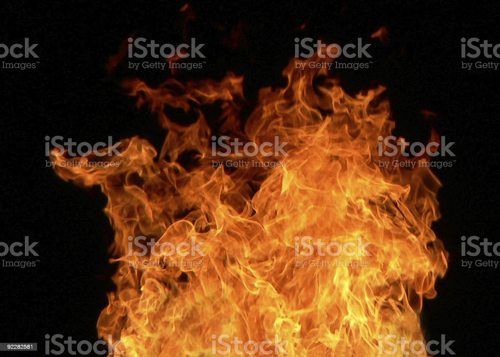 Fire royalty-free stock photo