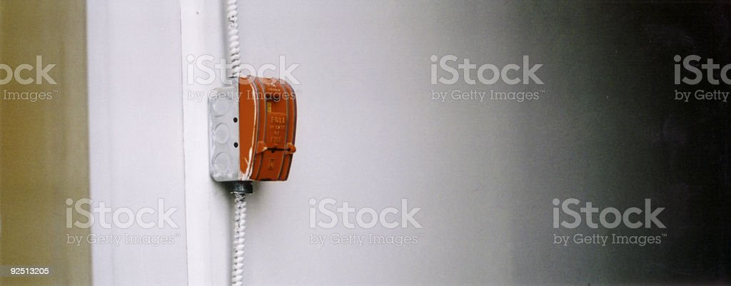 Fire Pull stock photo